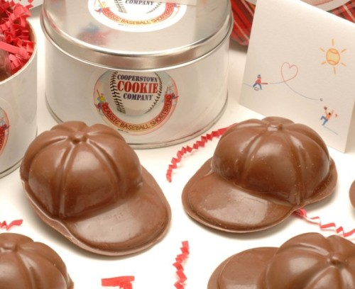 Classic Chocolate Baseball Caps